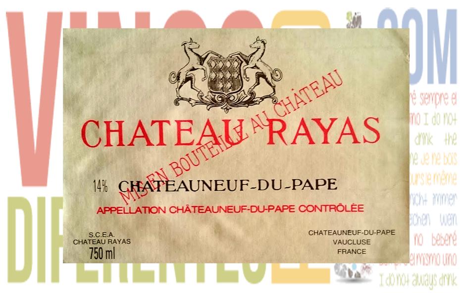 Château Rayas 2006. Bodega Château Rayas.