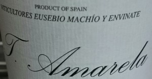 El vino de Envínate en Extremadura: T. Amarela. Los vinos de envínate.