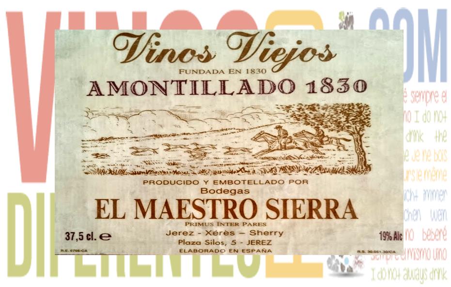 Amontillado 1830. Bodega El Maestro Sierra.