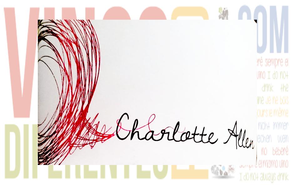 Charlotte Allen 2009. Vino de Abril.