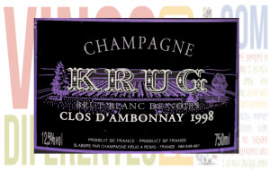 Imagen. Krug Clos D'Ambonnay 1998