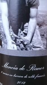 Imagen. Etiqueta Botella Dos Caminos