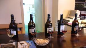 Imagen cata de vinos. Agrupamiento por tipo de vino: Generososjerezanos