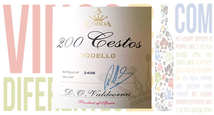 200 Cestos 2013. Bodegas A Coroa.