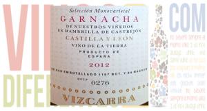 Vizcarra Monovarietal Garnacha 2012