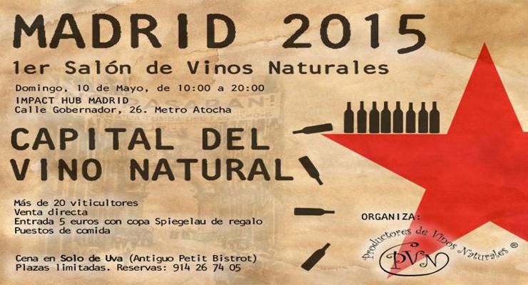 Primer Salón de Vinos Naturales de Madrid.