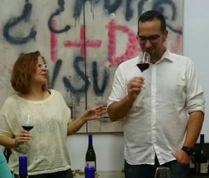 Foto de Alejandro Narváez y Rocío Áspera propietarios de Bodegas Forlong