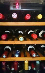 Armario de Vino o Vinoteca. La Temperatura Adecuada del Vino.