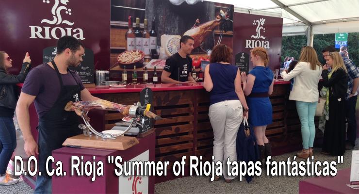 "D.O. Ca. Rioja ""Summer of Rioja tapas fantásticas"""