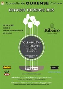 Enofest Ourense 2015. Con la participación del la DO Ribeiro.