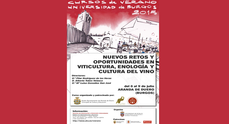 Curso, Nuevos retos y oportunidades en viticultura, enología y cultura del vino