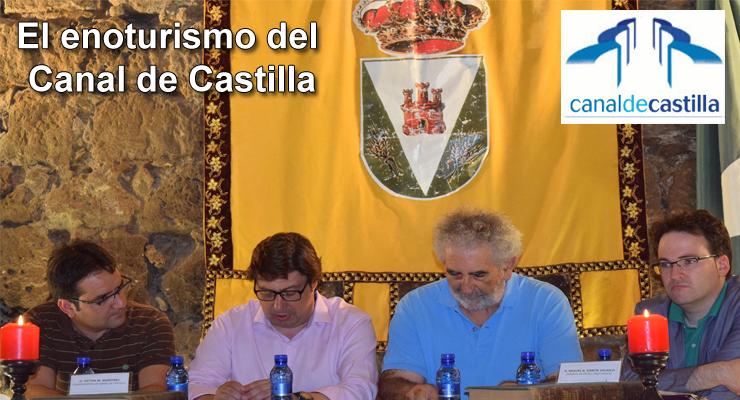 El enoturismo del Canal de Castilla