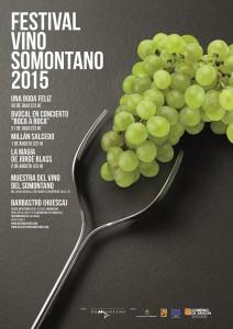 Del 30 de julio al 2 de agosto en Barbastro: Festival Vino Somontano 2015