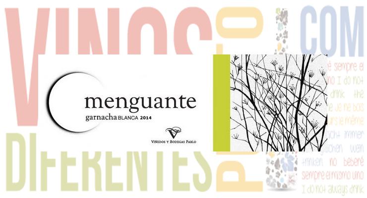 Menguante Garnacha Blanca 2014. Bodegas Pablo.