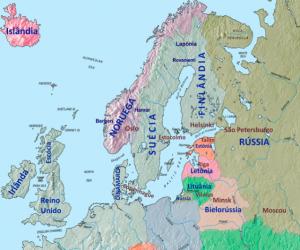 imagen países nórdicos, datos del vino