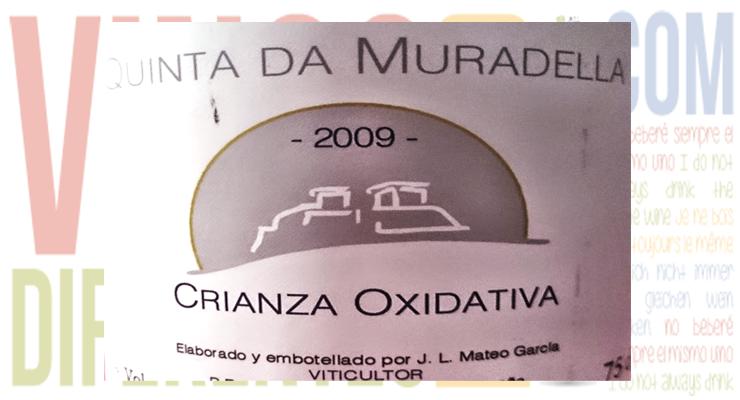 Quinta da Muradella Crianza Oxidativa 2009.
