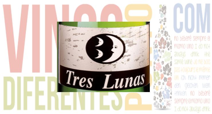 Tres Lunas Verdejo 2013. Bodegas Gil Luna.