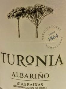 imagen Albariño 2014: Turonia