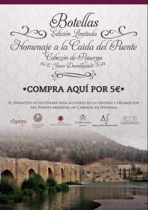 """Imagen Ruta del Vino Cigales, presenta en Cabezón de Pisuerga el Vino conmemorativo """"Caída del Puente de Cabezón"""""""
