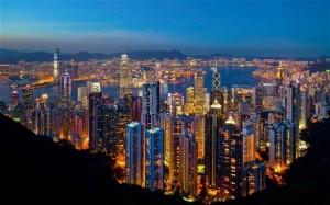 imagen hong kong. mercados asiáticos.