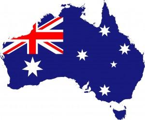 imagen bandera de australia. Exportaciones de vino primer semestre 2015