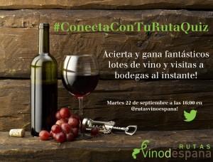 Imagen cartel #ConectaConTuRutaQuiz, el nuevo concurso de Rioja Alavesa