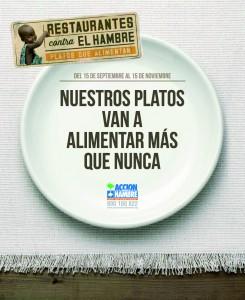 "Imagen del cartel ""Restaurantes contra el hambre"""