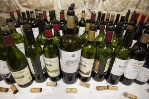 Imagen de los vinos catados en la jornada profesional. La Cata del Barrio de la Estación.