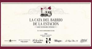 """Imagen del logotipo de """"La Cata del Barrio De la Estación"""""""