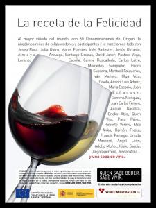 La campaña QUIEN SABE BEBER, SABE VIVIR, finaliza este mes de septiembre