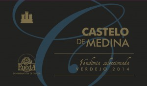 """Foto de la Etiqueta """"Castelo de Medina Verdejo Vendimia Seleccionada"""". Bodegas Castelo de Medina"""