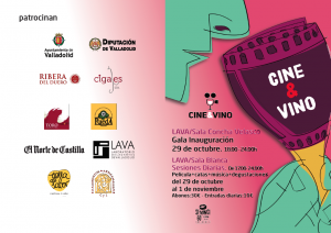 Imagen folleto Cine&Vino. DO Ribera del Duero