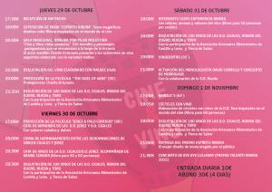 Imagen folleto Cine&Vino. DO Ribera del Duero