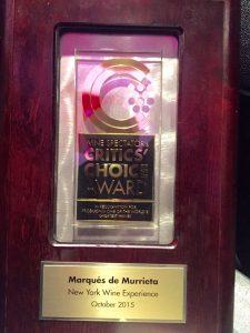 Marqués de Murrieta, elegida entre las mejores bodegas del mundo por Wine Spectator