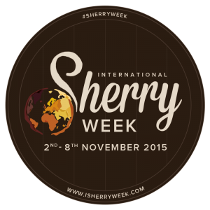 Logotipo. DO Jerez-Xérès-Sherry. International Sherry Week