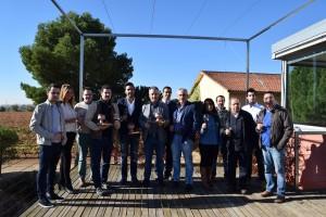 Foto de entrega de premios de Tierra del Cigales