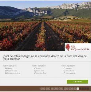 Imagen. Juega con la Ruta del Vino de Rioja Alavesa con motivo del Día del Enoturismo