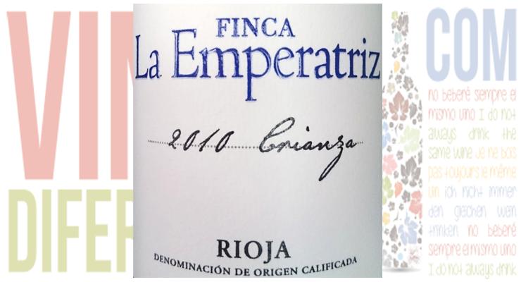 Finca la Emperatriz Crianza 2010. D.O.Ca La Rioja.