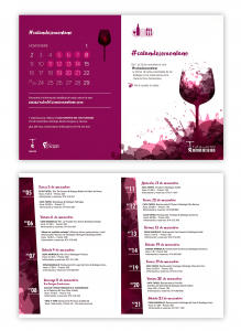 Folleto #CatandoSomontano. La Ruta del Vino Somontano celebrará durante todo el mes de noviembre el Día Europeo del Enoturismo.