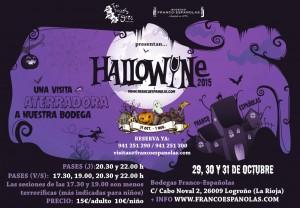 """Imagen. Bodegas Franco Españolas y el """"Hallowine"""" visitas aterradoras."""