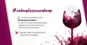 Imagen #CatandoSomontano. La Ruta del Vino Somontano celebrará durante todo el mes de noviembre el Día Europeo del Enoturismo.