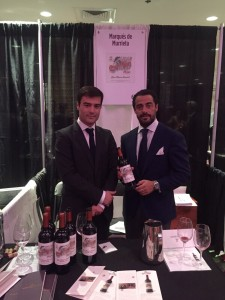 Foto. Marqués de Murrieta en la New York Wine Experience