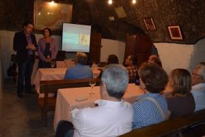 """Imagen conferencia magistral trataba sobre la """"Protección del Patrimonio del Vino. Ruta del Vino Cigales"""