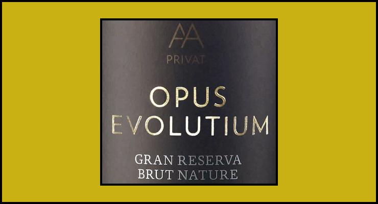 AA Privat Opus Evolutium. Cava ecológico. - VINOS DIFERENTES