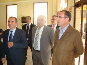 Foto consejo rector y Caja rural. Bodegas Altovela