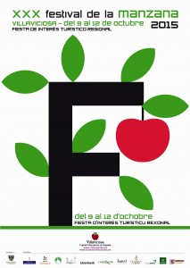 Imagen del cartel del Festival de la Manzana