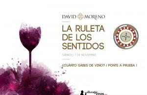 """Imagen. Bodegas David Moreno celebrará el Día Internacional del Enoturismo con """"La Ruleta de los Sentidos"""""""