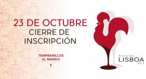 """Imagen. """"Concurso Internacional Itinerante Tempranillos al Mundo 2015"""""""