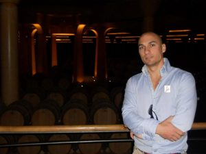 Imagen. Al frente de Bodega Apalaz Vigneron se encuentra Ernesto Aparicio Lázaro