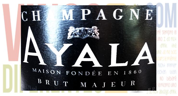 Ayala Brut Majeur. Un champagne de calidad.